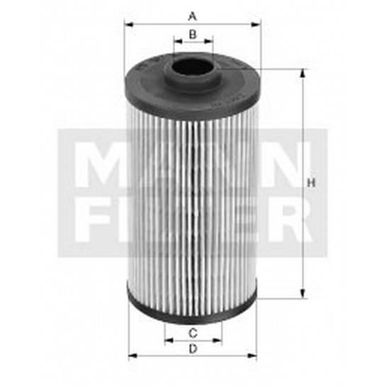 filter olejový mann HU 712 10x