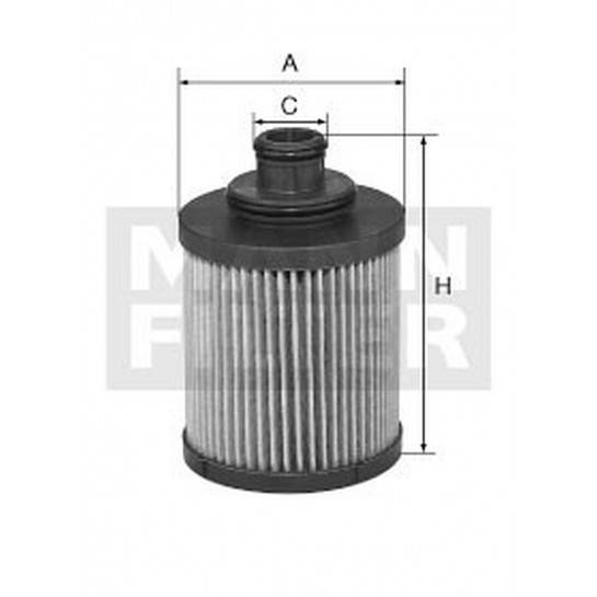 filter olejový mann HU 712 11x