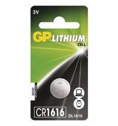 GP Lithium batéria CR 1616
