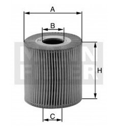 filter olejový mann HU 712/9x