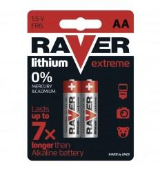 Batéria RAVER líthiová FR6 (AA) - 2 ks