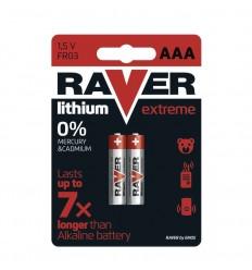 RAVER Batéria líthiová FR03 (AAA) - 2 ks