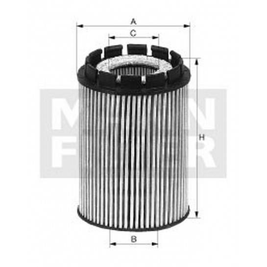 filter olejový mann HU 713x