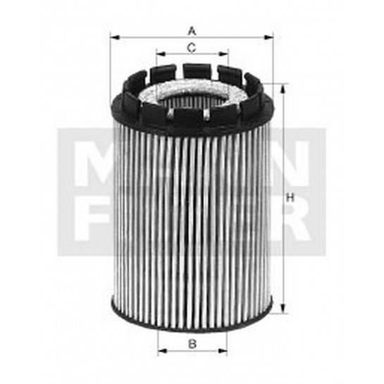 filter olejový mann HU 718x
