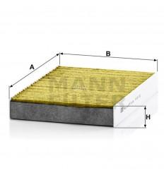 filter peľový mann FP 25003 biofunkčný Frecious Plus