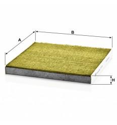 filter peľový mann FP 2544 biofunkčný Frecious Plus