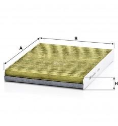 filter peľový mann FP 2862 biofunkčný Frecious Plus