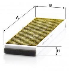 filter peľový mann FP 3023-2 biofunkčný Frecious Plus