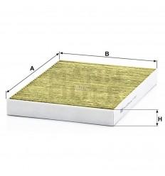 filter peľový mann FP 3037 biofunkčný Frecious Plus