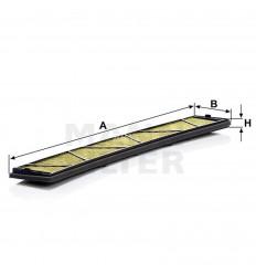 filter peľový mann FP 6724 biofunkčný Frecious Plus