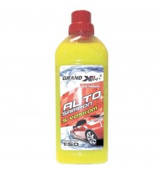 Grand X Autošampón s voskom žltý 1L