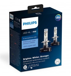 Philips X-treme Ultinon H7 LED žiarovka 2ks/balenie