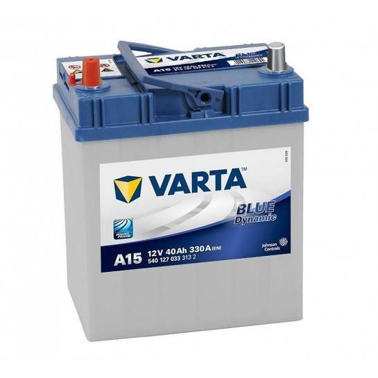 VARTA BLUE Dynamic 12V 40Ah 330A Asia ľavá