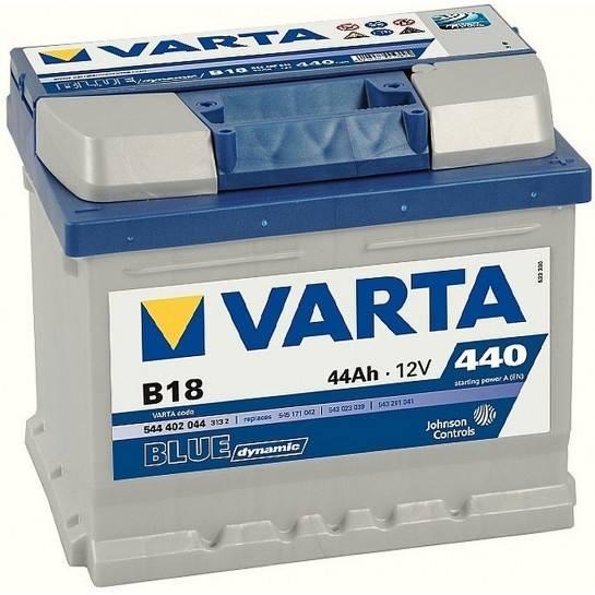 VARTA BLUE Dynamic 12V 44Ah 440A
