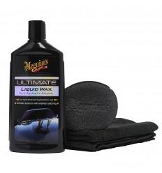 Meguiar's Ultimate Wax Liquid - špičkový tekutý vosk na báze syntetických polymérov 473 ml