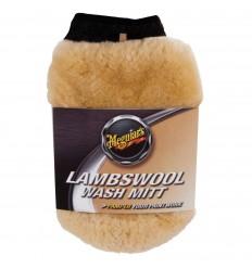 Meguiar's Lambswool Wash Mitt - umývacie rukavice z pravej jahniacej vlny