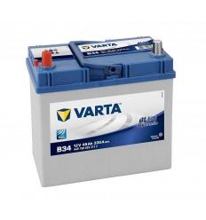 VARTA BLUE Dynamic 12V 45Ah 330A Asia ľavá
