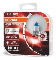 Osram Night Breaker Laser H3 +150% 2ks/balenie