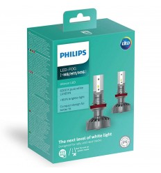 LED H8/H11/H16 Ultinon +160% PHILIPS