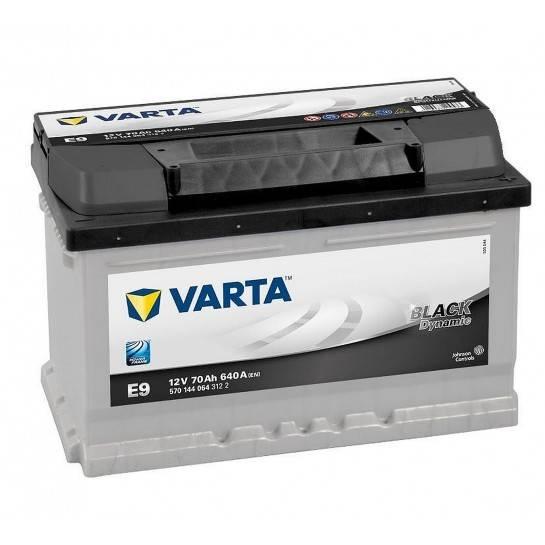 VARTA BLACK Dynamic 12V 70Ah 640A