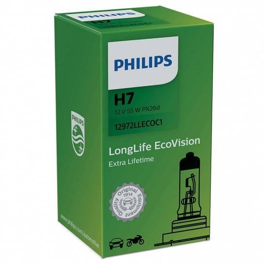 žiarovka 12V H7 LongLife Ecovision Philips