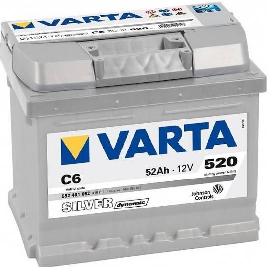 VARTA SILVER Dynamic 12V 52Ah 520A