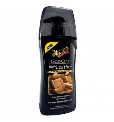 Meguiar's Gold Class Rich Leather Cleaner & Conditioner - čistič a kondicionér na kožu 400 ml