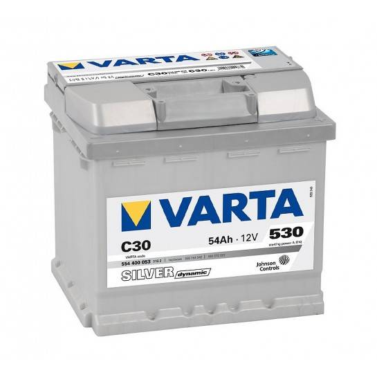 VARTA SILVER Dynamic 12V 54Ah 530A