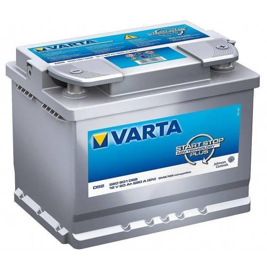VARTA START STOP PLUS 12V 60Ah AGM