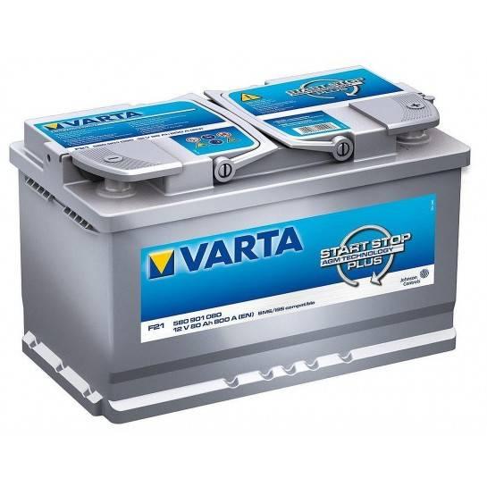 VARTA START STOP PLUS 12V 80Ah AGM
