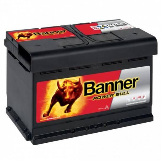 Banner Power Bull 12V 74Ah 680A P7412