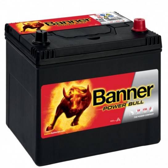 Banner Power Bull 12V 60Ah 450A P6068