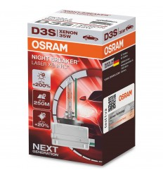 Osram Xenarc Night Breaker Laser 66340XNL D3S +200%