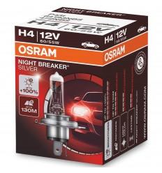Osram Night Breaker Silver H4 +100% 2ks/balenie