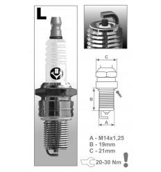 BRISK zapaľovacia sviečka L17C (1321)