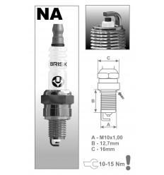 BRISK zapaľovacia sviečka NAR14YC (1551) Super