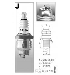 BRISK sviečka JR19