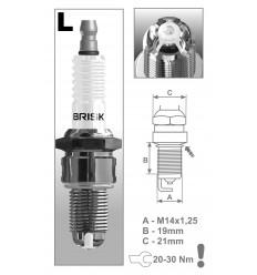 BRISK zapaľovacia sviečka LOR17LGS Premium (3030)