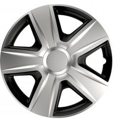 Puklice 13 Esprit DC silver&black