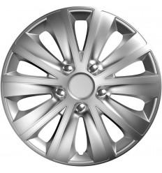 Puklice 16 Rapide NC silver VERSACO