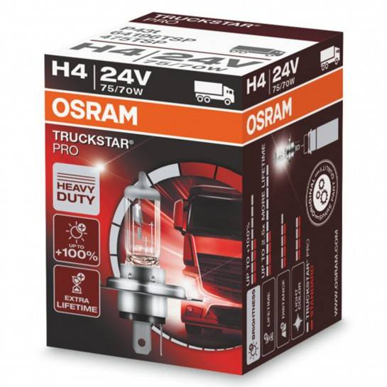 H4 24V 75 70W TSP Osram