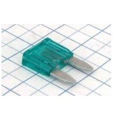 Poistka mikronožová 30A zelená/(po 25ks)