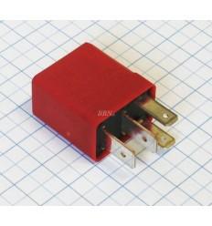 Relé 12 V - MICRO 30A - červené