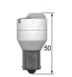 Žiarovka 12V 10W Ba15s+cúvací alarm