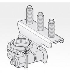 Svorka batériová - mínusová 3 skrutky