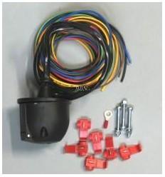Kabeláž na zapojenie 7-zásuvky