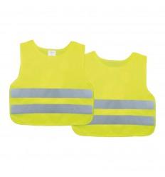 Reflexná vesta detská žltá