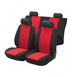 Autopoťah Flash 3ks červený/čierny BASIC WALSER
