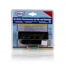 Digitálne hodiny s teplomerom a kalendárom ALCA
