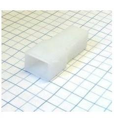 Obal kolíka 6,3mm 1-cestný - silon